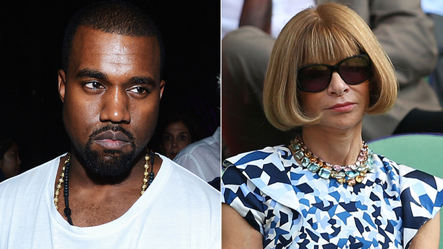 Kanye Pitches Baby Photos To Vogue, Anna Wintour's Like 'As If'