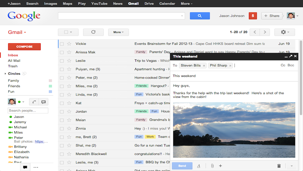 Gmail's New Compose Window Will Soon Be Your Only Choice