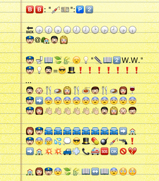 The Entire Breaking Bad Premiere, Translated Into Emoji