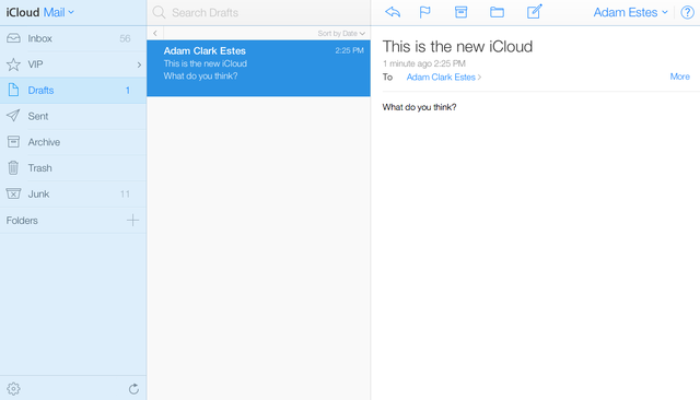 iCloud's About to Look a Whole Lot More Like iOS 7