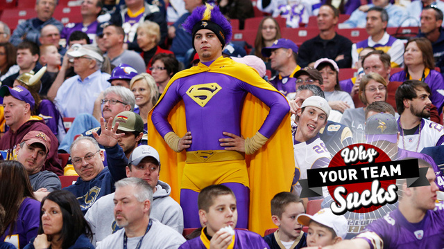Why Your Team Sucks 2013: Minnesota Vikings