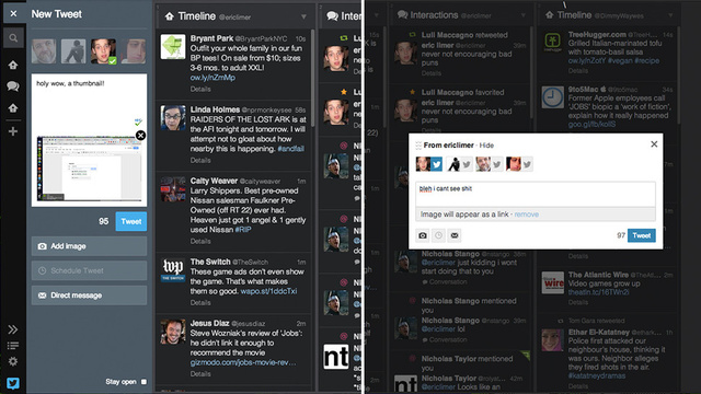 Tweetdeck Just Got a Little Bit Prettier