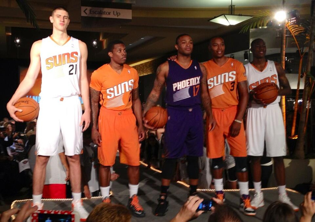 Phoenix Suns Unveil New Uniforms