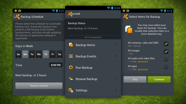 Avast! Mobile Backup Regularly Backs Up Your Android to Google Drive