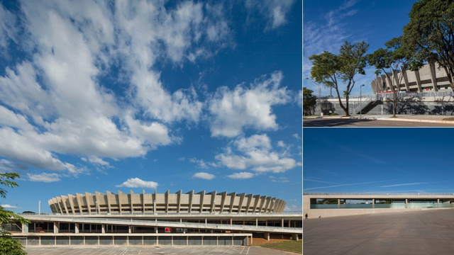 How a Crumbling 1960s Stadium Was Resurrected to Host the World Cup