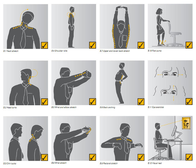Clever ways to exercise in any small space lifehacker - Small space workouts style ...