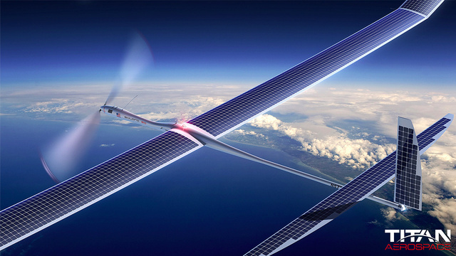 These Solar-Powered Giant Winged Drones Could Replace Satellites