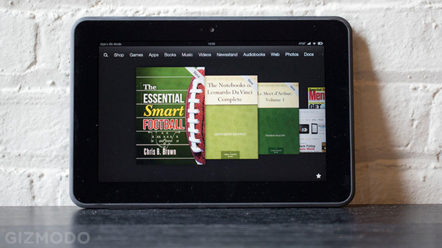 Amazon's Having a Kindle Fire (Fire) Sale All Day Today