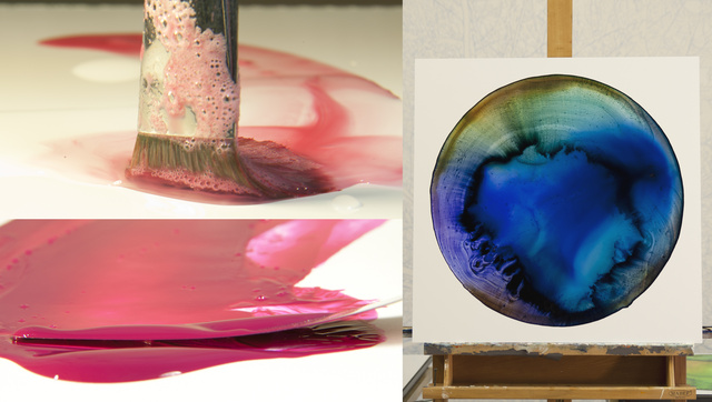 This Artist Paints With Pigments Made From Toxic Sludge