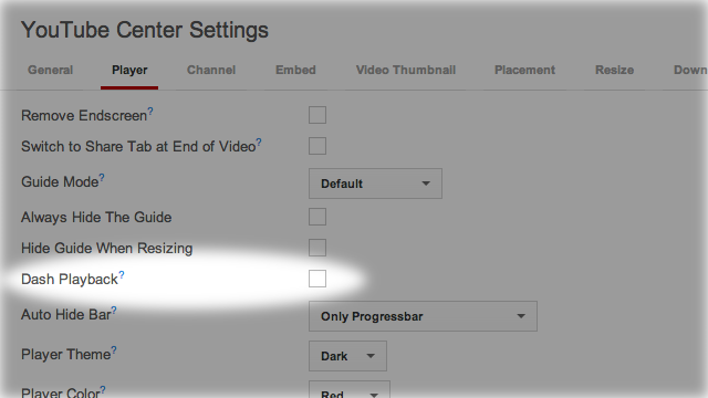 Preload Entire YouTube Videos By Disabling Dash Playback