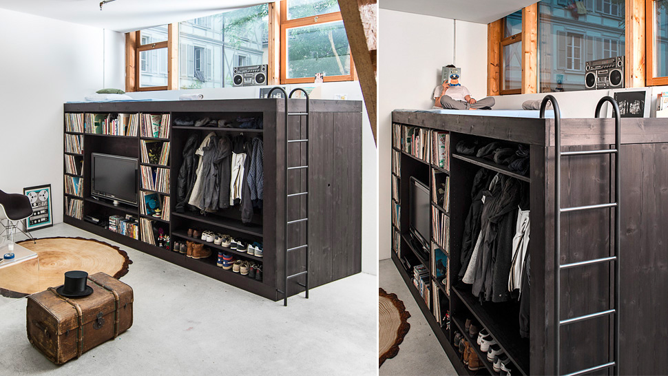 This Multi Purpose Living Cube Fits Life Into 9sqm