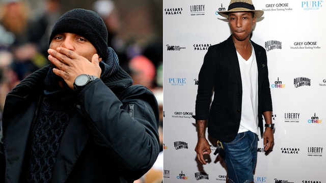 Ray Lewis And Pharrell Team Up For A Mixtape Of Sorts