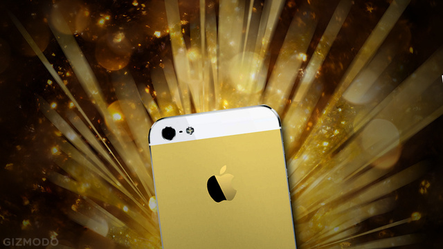 Why Gold iPhones Make Sense, A Head in a Particle Accelerator, and More