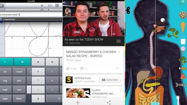 iPad Apps of the Week: YouTube, Quick Graph, and More