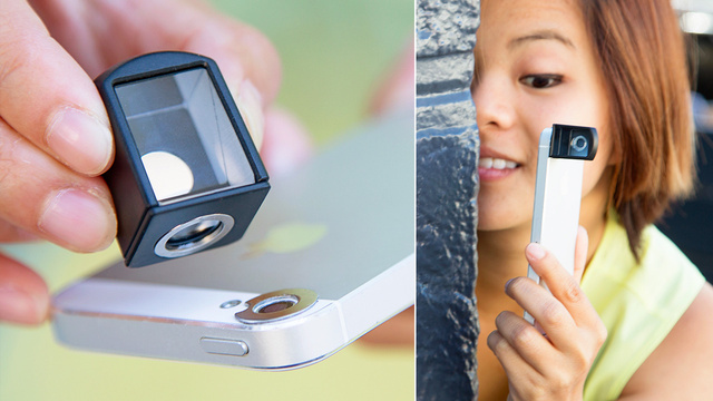 An iPhone Camera Periscope Makes Stalking a Breeze