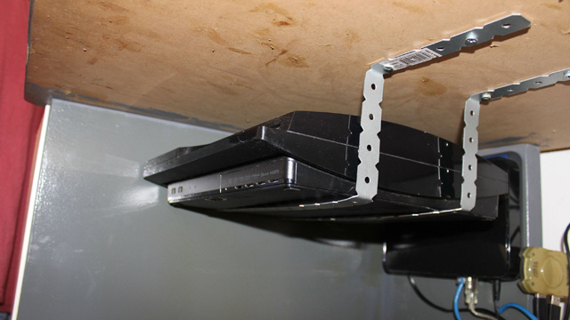Mount Anything Under Your Desk With Cheap Brackets