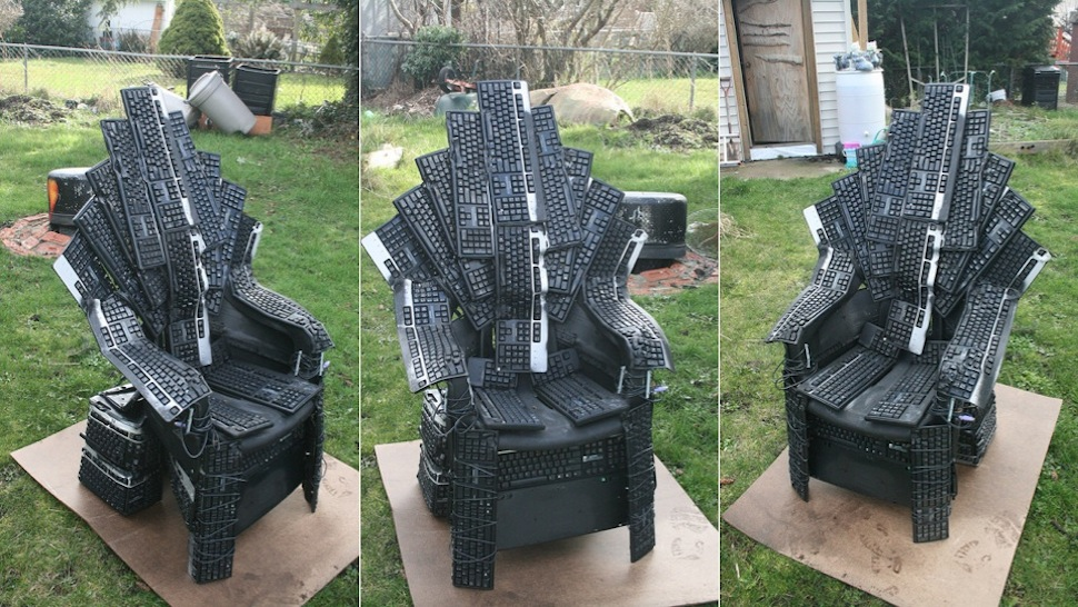 We should all fight for this iron throne made from for Buy iron throne chair