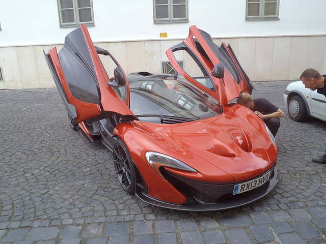 Thereu0027s A McLaren P1 In Hungary Right ...