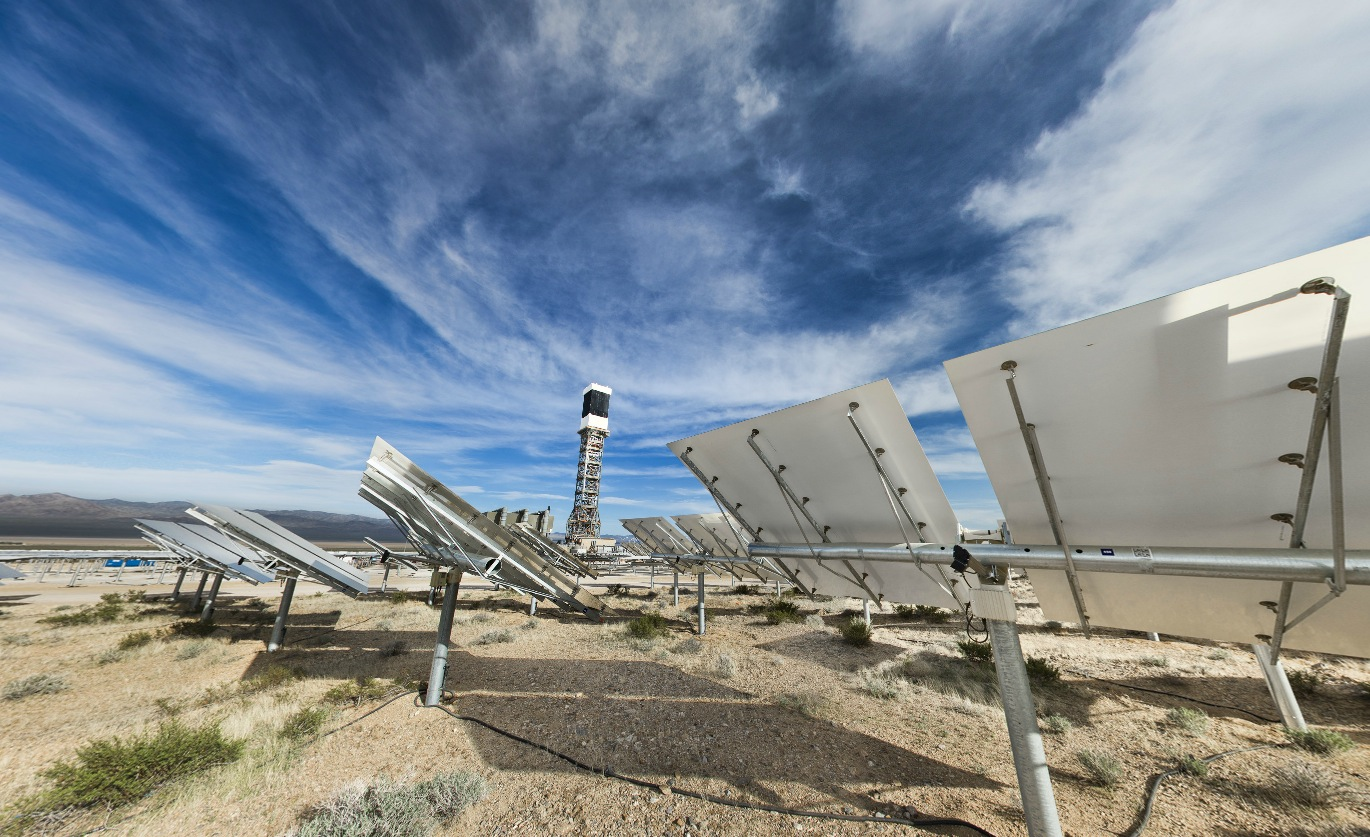 Take a Tour of California's Insane Solar Thermal Energy Plant