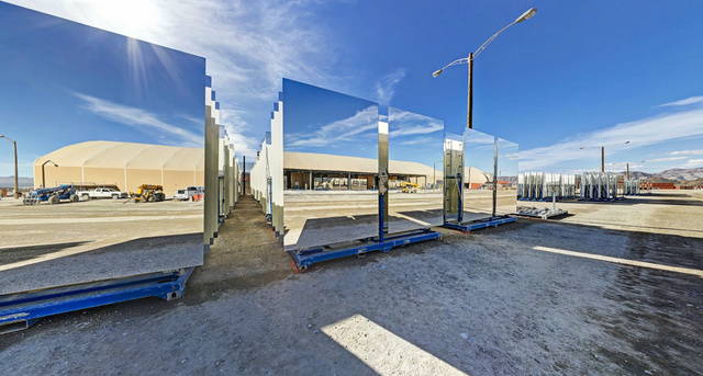 Take a Tour of This Insane Solar Thermal Energy Plant in the California Desert