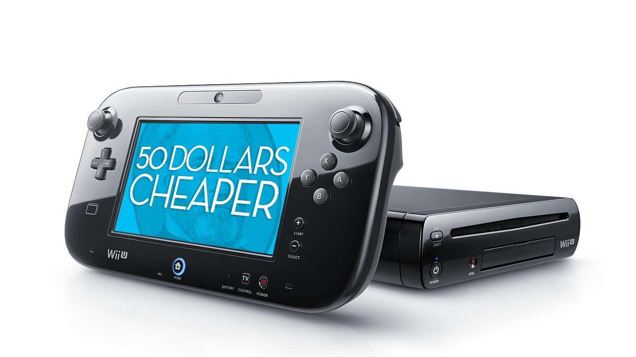 Wii U Price Drops $US50 Effective September 20