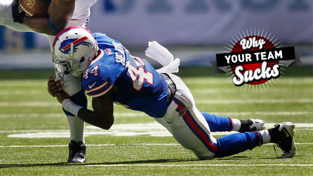 Why Your Team Sucks 2013: Buffalo Bills