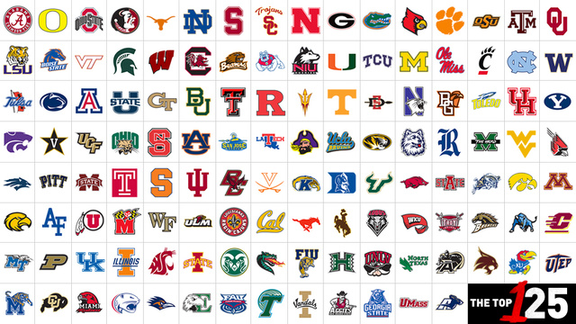 Football Team Logo With Name College Football Team Logos