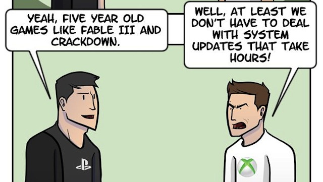How Every Argument About Xbox and PlayStation Ends