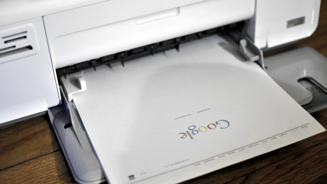 Test Your Printer with the Google Homepage