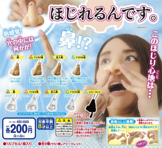 In Japan, There Are Fake Noses for You To Pick