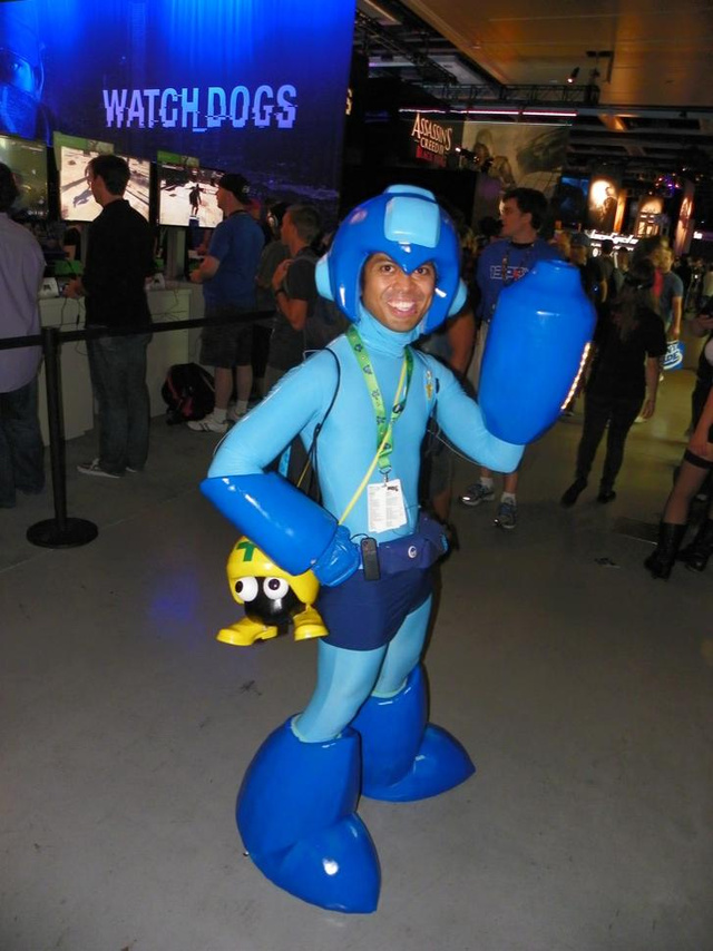 PAX Cosplay: Male Tomb Raider , Zangief in Briefs and a Great Mega Man