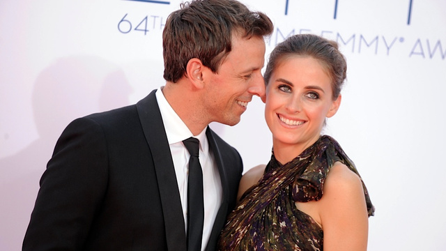 Seth Meyers Got Married This Weekend, but Not to Stefon