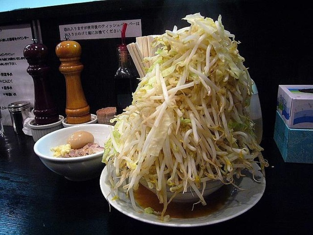 Supersized Japanese Food!