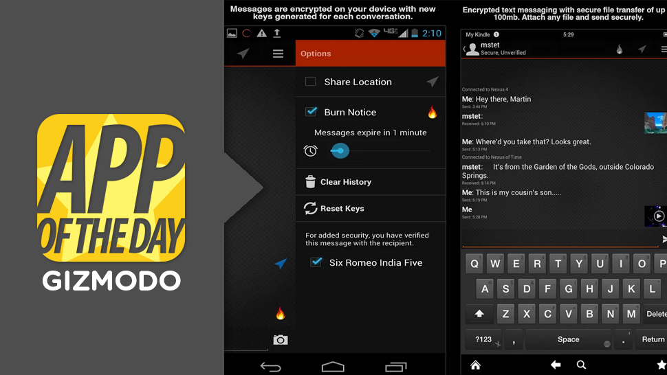 Android Apps of the Week: Silent Text, PrivacyFix and More