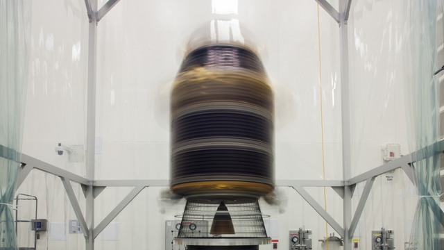 You Wouldn't Want To Be Inside This NASA Spin Test