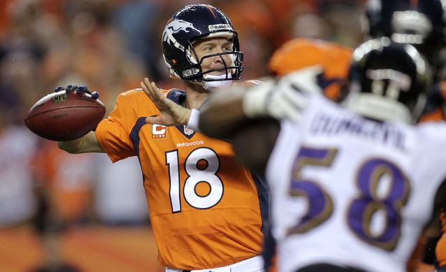 Peyton Manning's Night Deserves Its Own Page In The Record Book