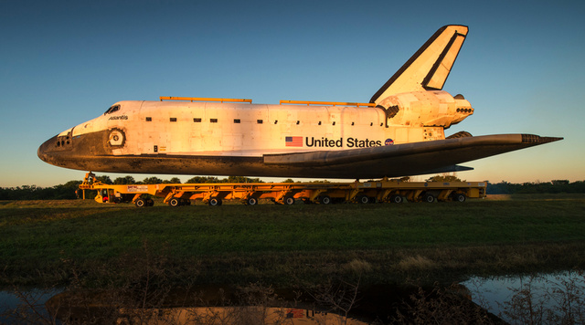 This Week in Time Capsules: Retired Shuttles and Moldy Baseball Cards