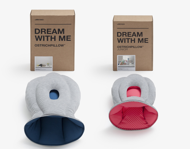 Nap-Anywhere Ostrich Pillow Does Away With Kids' Napping Woes, Friends
