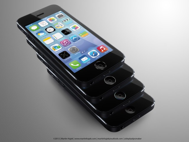 The iPhone 5S Home Button Ring Could Look Like HAL 2013