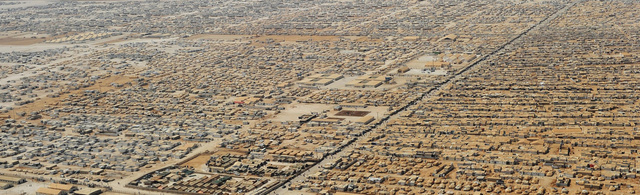 144,000 Syrian refugees are packed in this endless city made of tents