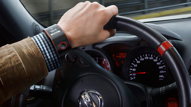 Nissan's Biometric Smartwatch Monitors the Health of You and Your Car