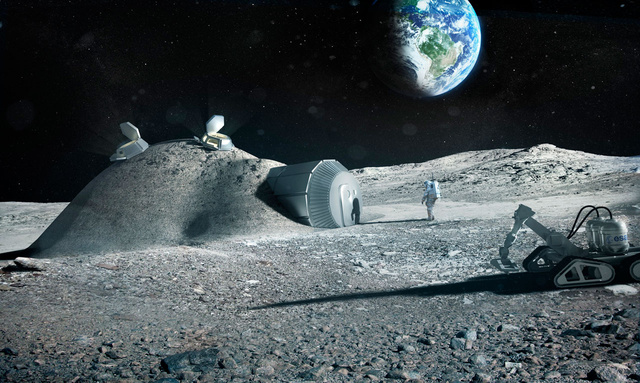 Could Future Astronauts 3D Print Habitats Using Mars and Moon Soil?