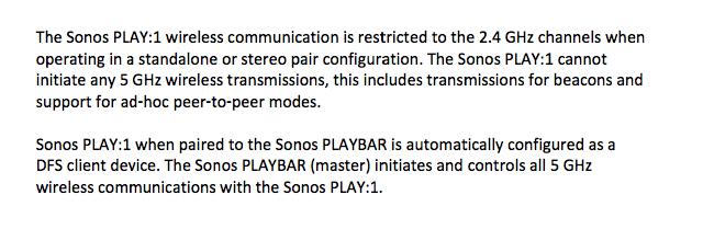 Sonos Play:1 FCC Filing Hints At Bookshelf Speaker