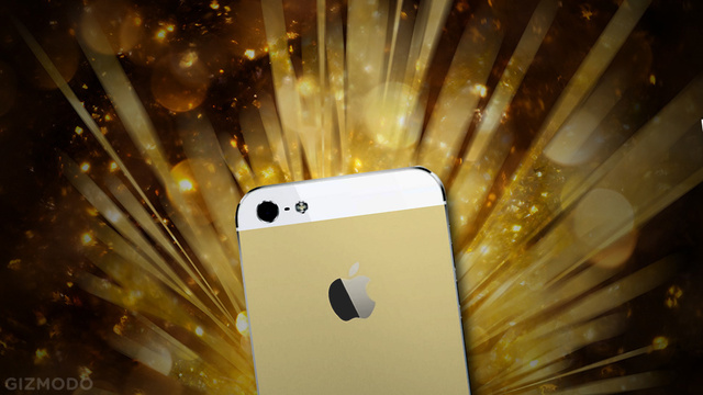 The Gold iPhone 5S Is an Actual Thing and It Looks Like Champagne