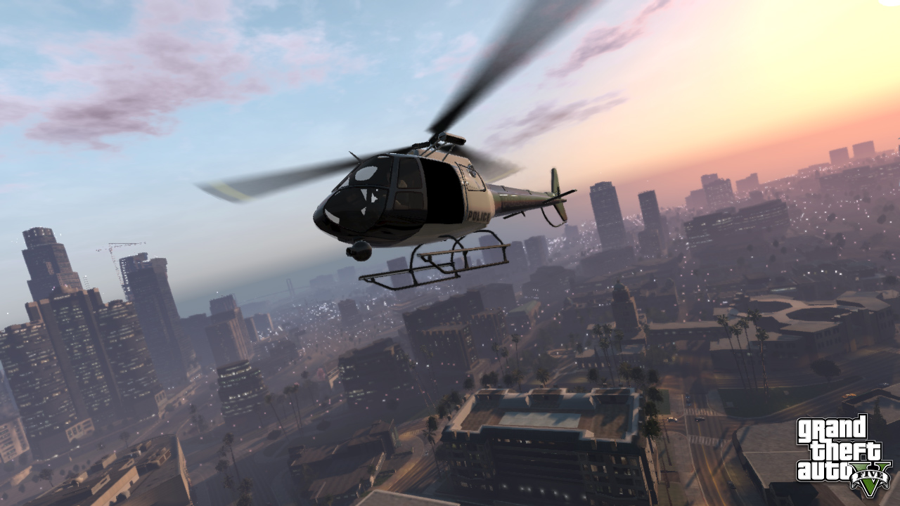Leaked Grand Theft Auto V Map Is Massive