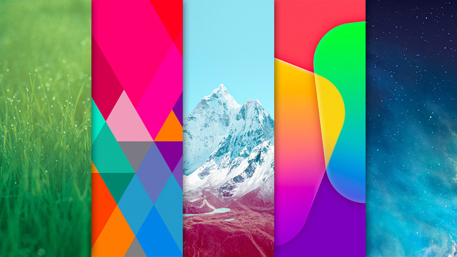 Download All of iOS 7's Lovely Wallpapers Right Now