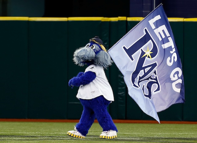 Red Sox Fan Arrested After Allegedly Grabbing Rays Mascot By Th…