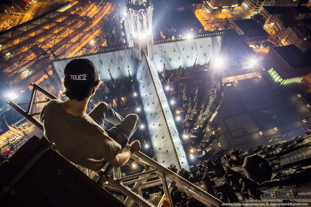 These Stomach-Churning Views Were Shot From Europe's Highest Ledges