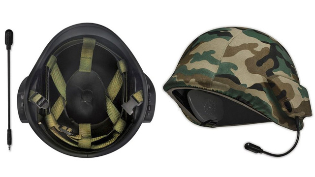 A Speaker Helmet That Maybe Takes First-Person Shooters Too Seriously