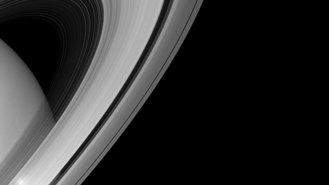 Saturn Looks Simply Stunning From Cassini